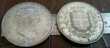 5 лір 1877  року. ІТАЛІЯ /репліка/посрібнення  999.копія, фото №2
