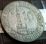 10  гульденів 1935 року Вільне місто Данціг. - копія, фото №2