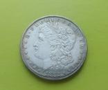 1 доллар 1882 г. O Morgan США (копія), фото №2