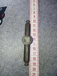 Маленькая бронзовая дверная ручка, фото №4