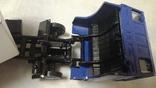 Тягач, Грузовик Lion Car 1/50 Scale No.36 - DAF Truck Trailer - Blue Band, Holland (2), фото №8
