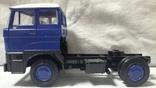 Тягач, Грузовик Lion Car 1/50 Scale No.36 - DAF Truck Trailer - Blue Band, Holland (2), фото №9