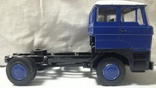 Тягач, Грузовик Lion Car 1/50 Scale No.36 - DAF Truck Trailer - Blue Band, Holland (2), фото №10