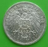 3 марки, 1911г, Вюртемберг,, фото №3