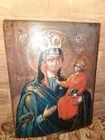 Икона Богородицы Рудненская размером 34 на 27 см., фото №3