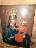 Икона Богородицы Рудненская размером 34 на 27 см., фото №5