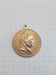 Медаль Наполеон. Копия, фото №4