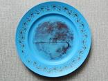 Старинная тарелка из колкого пластика, фото №3