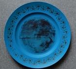 Старинная тарелка из колкого пластика, фото №7