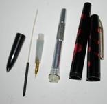Чернильная ручка White feather, пр.Китай., фото №8