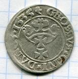 Сігізмунд 1 гріш 1535 рік Гданськ, Данціг, фото №2