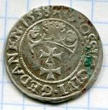 Сігізмунд 1 гріш 1538 рік Гданськ, Данціг, фото №2
