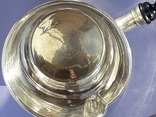 Сотейник (brandy warmer), серебро, Франция, XIX век, фото №8