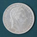 1 флорин 1858, фото №3