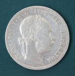 1 флорин 1886, фото №2