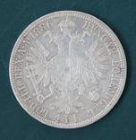 1 флорин 1886, фото №3