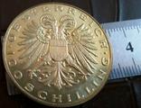 100 шиллінгів  1935 року Австрія. Точна копія - не магнітна  дзвенить, фото №3