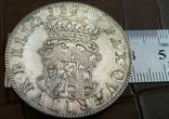 Монета Англії 1658 рокуточна копія срібної /посрібнення 999/ не магнітна, фото №3