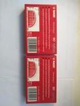 Касеты BASF extra 1 ferro новые в упаковке 2 ШТ, фото №4