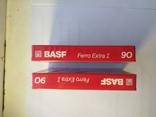 Касеты BASF extra 1 ferro новые в упаковке 2 ШТ, фото №5