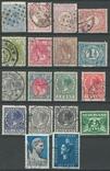 Яб05 Нидерланды 1872-1938 (18 марок без повторов), фото №2