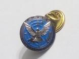 Знак фрачник Украина KNUIA  Peacekeeping Сtnter