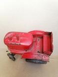 Красный железный трактор СССР, фото №5