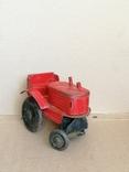 Красный железный трактор СССР, фото №6