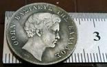 1 драхма   1832 року Греція /репліка/ копія посрібнення 999.  магнітна, дзвенить, фото №3