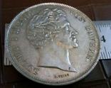 2 таляра  1842 року Баварія ///копія/ посрібнення 999, фото №3