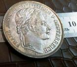 2 таляра 1857 Австр-Угорщина /відкриття залізної дороги в Трієсті//копія/, фото №3