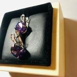 Набор кольцо и серьги, фото №5