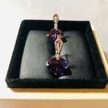 Набор кольцо и серьги, фото №6