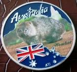 1 долар  2017 року Австралія /репліка/ копія посрібнення 999, фото №2