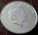 1 долар  2019 року Австралія /репліка/ копія посрібнення 999, фото №3