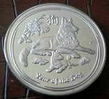 1 долар  2018 року Австралія /репліка/ копія посрібнення 999, фото №2