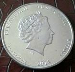 1 долар  2018 року Австралія /репліка/ копія посрібнення 999, фото №3