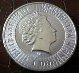 1 долар  2016 року Австралія /репліка/ копія посрібнення 999, фото №3