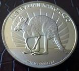100 доларів Австралія 2011 року. магнітний, (позолота 999) копія, фото №2