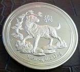 5 доларів Австралія  2015 року.  магнітний,   (позолота 999)  копія, фото №2