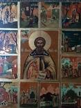 Икона Сергей Радонежский в житии, фото №6
