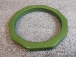 Граненый браслет пластик, фото №2