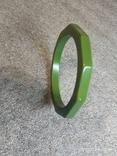 Граненый браслет пластик, фото №5