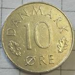 Дания 10 оре 1973, фото №2