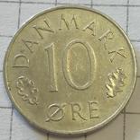 Дания 10 эре 1974, фото №3