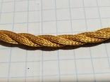 Цепочка и сережки,золото 916., фото №4