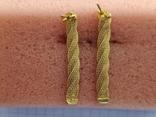 Цепочка и сережки,золото 916., фото №8