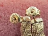 Цепочка и сережки,золото 916., фото №10