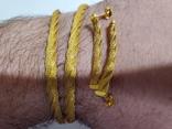 Цепочка и сережки,золото 916., фото №11