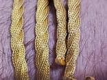 Цепочка и сережки,золото 916., фото №12